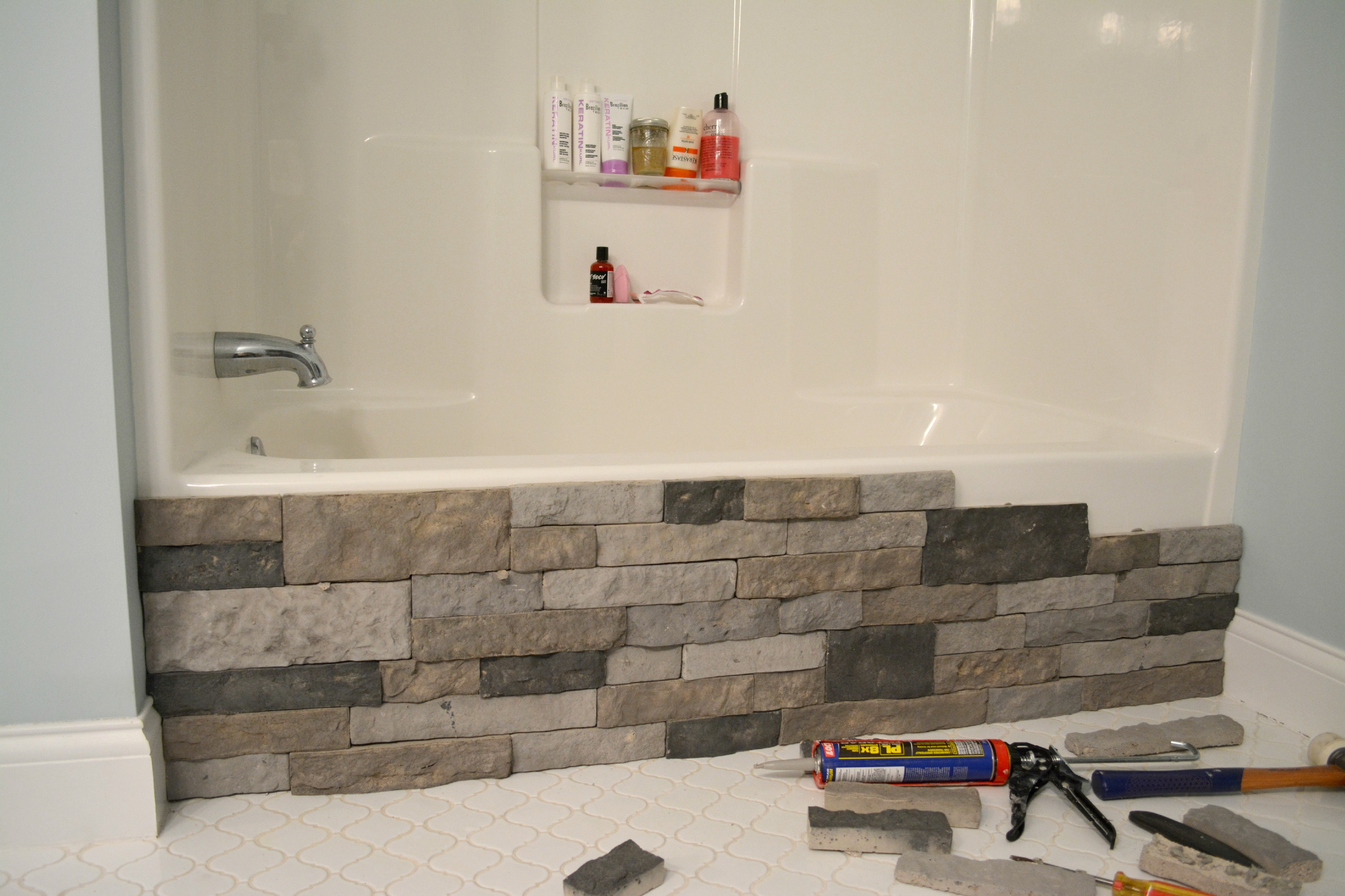 Bye Bye Builder Grade Bathtub |
